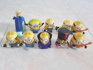 🚚 10 Minions Figures Collectibles