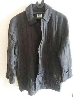 Jacket Semi Blazzer With Motif