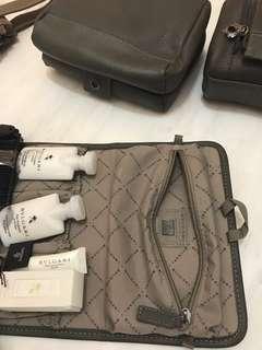Bulgari luxury men travel set