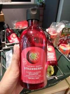 The Body Shop Strawberry Shampoo 400ml Big Bottle