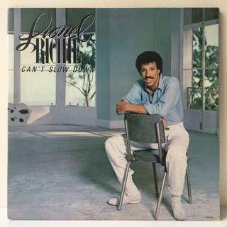 Lionel Richie ‎– Can't Slow Down (1983 US Original in Gatefold Sleeve - Vinyl is Excellent)