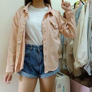 🚚 軟妹款❤糖果粉色牛仔外套