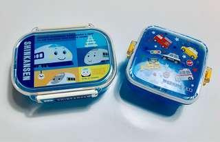 日本🇯🇵新幹線🚄野餐盒.便當🍱盒.日本🇯🇵卡通野餐盒二個/搬家出清