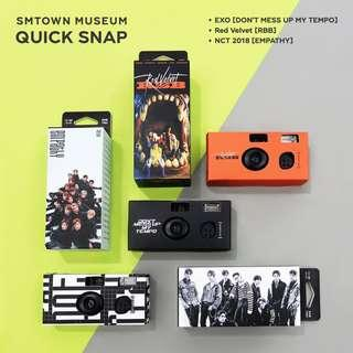 WTB - NCT SMTOWN MUSEUM QUICK SNAP DISPOSABLE CAMERA