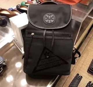 Authentic Tory Burch waterproof nylon backpack