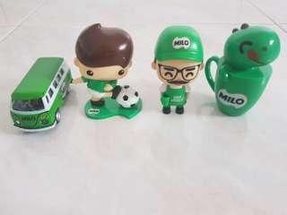 🚚 4 Milo Figures & Collectibles