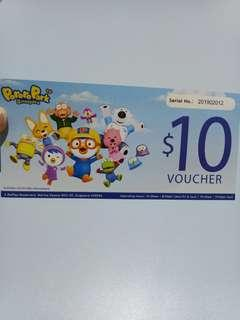 $10 PORORO PARK VOUCHER ON SALE