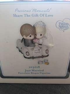 🚚 Precious Moments Figurine - Happy Wedding