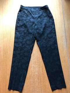Uniqlo Black Cropped Pants