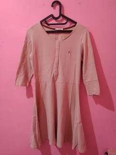 hush puppies pink plain polos dress