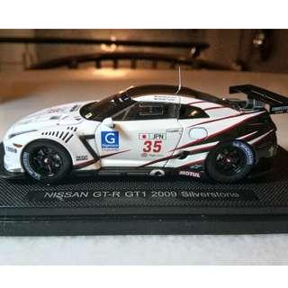 Price For 2 Ebbro 1/43 Nissan GT-R GT1 2009 & R33 GT-R Kure  96