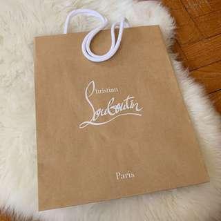 Christian Louboutin Paper Bag