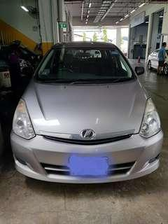 Toyota Wish 1.8A For Rental -PRIVATE HIRE-