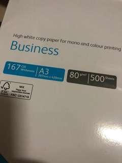 A3 size Fuji Xerox 80gsm paper