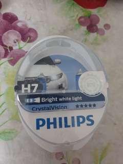 Philip H7 4.2k bright white light (LTA approve)
