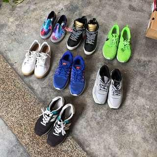 New & used shoes from RM30