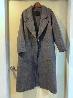 🚚 全新韓國80%羊毛大衣🇰🇷三清洞購入