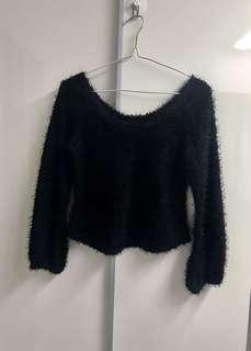 黑色冷衫 Black Sweater