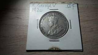 1920 K.George V 50 cents #STB50