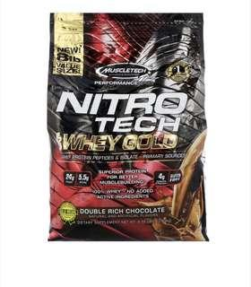 🚚 Whey protein muscletech 8 pounds chocolate