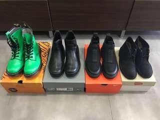 Women's Boots Dr. Martens, Palladium, Clark's, Alexander Wang