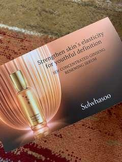🚚 Sulwhasoo concentrating renewing serum