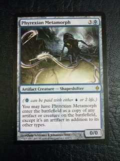 1 x Phyrexian Metamorph NPH Lightly played mtg