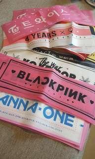 WANNAONE/BLACK PINK/ BTS/EXO AND ETC RANDOM - 6PCS FOR RM15