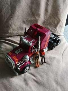 Vintage Kenner M.a.s.k Rhino complete