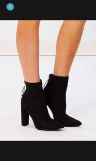 As New Black sold out suede boots
