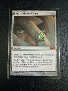 1 x Ring of Three Wishes M14 mtg near mint