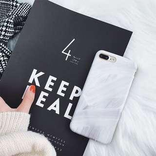 marble paint iPhone cover