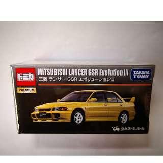 Tomica Premium Original Mitsubishi Lancer GSR Evolution III 三菱 EVO TAKARA TOMY