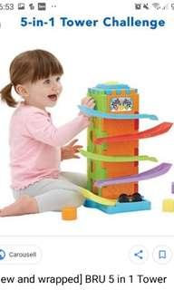🚚 Bru whacky wall activity tower