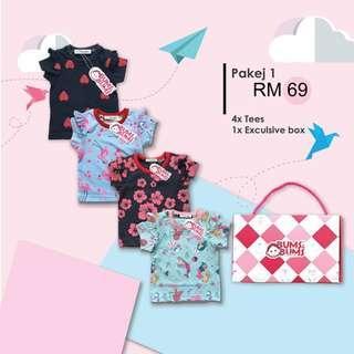 Bums Shirt Set 1 - Girl