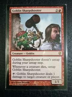 1 x Goblin Sharpshooter C13 near mint mtg
