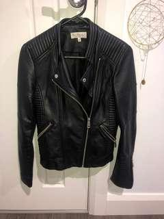 Glamazon the Label Black Leather Look jacket