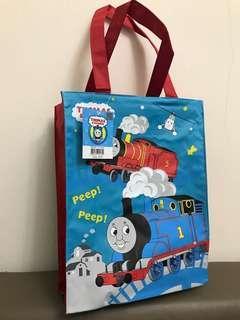 🚚 全新 百貨買的 正版 湯瑪士 補習袋 A4袋 幼稚園 大