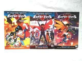 DC Rebirth Super Sons 2017
