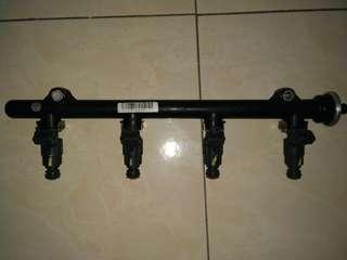 Fuel injector rail saga