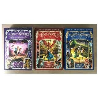 The Land of Stories 2-4 Christ Colfer