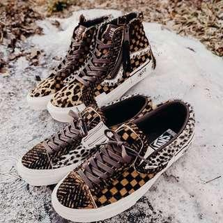 VANS HI CUT AND PASTE PONY HAIR