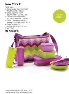Tupperware new T for 2