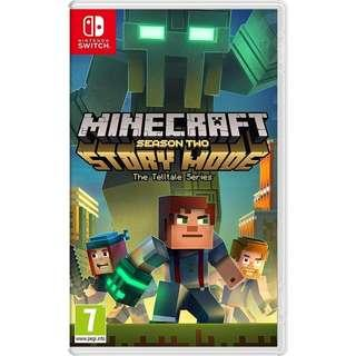🚚 Minecraft Story Mode Season Two - Nintendo Switch game