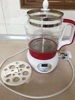 Multi-function glass kettle