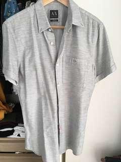 🚚 Armani Mens short sleeve shirt