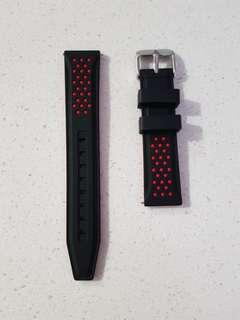 20mm Rubber Strap with Quick Release Pins