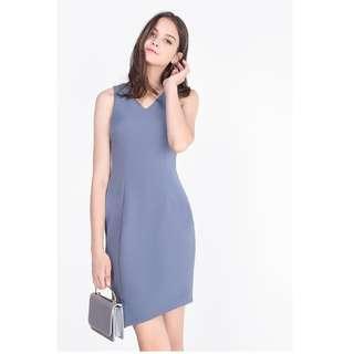 Fayth - BNWT Lyle Asymmetric Work Dress