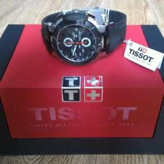 Tissot T-Race Automatic Chronograph Men's T048.427.27.057.00 Black Dial T Race Watch.