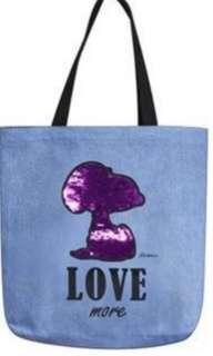 🚚 Snoopy tote bag